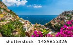 Landscape With Positano Town At ...