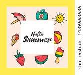 summer website banner. sale tag....