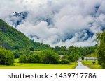 norway  beautiful view of... | Shutterstock . vector #1439717786