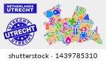 mosaic service utrecht province ... | Shutterstock .eps vector #1439785310