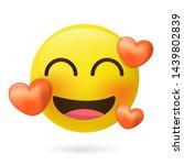 emoticons. emoji. loving emoji  ... | Shutterstock .eps vector #1439802839