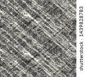 monochrome glitched diagonal... | Shutterstock .eps vector #1439828783