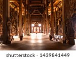 Buddhist Wooden Carvings...