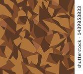 stone soil texture in brown... | Shutterstock .eps vector #1439853833