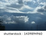 atmosphere of the sky and rain... | Shutterstock . vector #1439894960