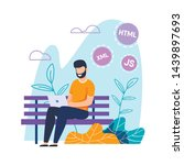 vector programmer or web... | Shutterstock .eps vector #1439897693