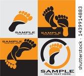 foot illustration logo vector...   Shutterstock .eps vector #1439914883