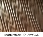abstract wave curve pattern on ... | Shutterstock . vector #143995066