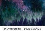 Abstract Galaxy Painting.....
