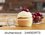 Cherry Jam Cupcake Shot On...