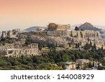 Parthenon Temple On The...