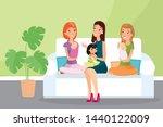 vector illustration of group of ... | Shutterstock .eps vector #1440122009