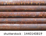 Rusty Steel Pipe Keep In Stock...