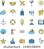collection of icons... | Shutterstock .eps vector #1440158693