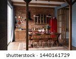 Kitchen In A Country House....