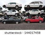 ashdod  isr   jan 04 stack of... | Shutterstock . vector #144017458