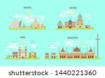 business city in england.... | Shutterstock .eps vector #1440221360