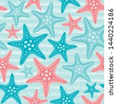Vector Seamless Sea Pattern...