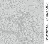 topographic map lines... | Shutterstock .eps vector #1440267260