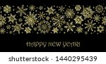 christmas background in retro... | Shutterstock .eps vector #1440295439