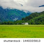norway landscape view  cloud... | Shutterstock . vector #1440335813