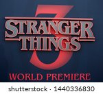 los angeles   jun 28   stranger ... | Shutterstock . vector #1440336830