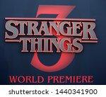 los angeles   jun 28   stranger ... | Shutterstock . vector #1440341900