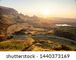 the quiraing walk in skye ... | Shutterstock . vector #1440373169