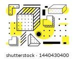 universal trend halftone...   Shutterstock .eps vector #1440430400