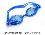 Glasses For Swimming Isolated...