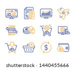 savings  add purchase and... | Shutterstock .eps vector #1440455666