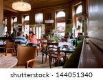 vienna   june 5  people inside... | Shutterstock . vector #144051340