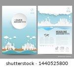 flyer brochure advertising... | Shutterstock .eps vector #1440525800