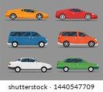 transport design over white... | Shutterstock .eps vector #1440547709