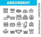 absorbent  absorbing materials... | Shutterstock .eps vector #1440551930
