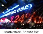 stock market price display | Shutterstock . vector #144055459