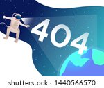 error four hundred and four and ... | Shutterstock .eps vector #1440566570