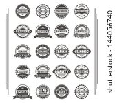 label sticker pack   Shutterstock .eps vector #144056740