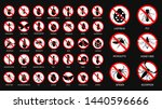 set of various insect... | Shutterstock .eps vector #1440596666