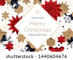 christmas corporate greeting...   Shutterstock .eps vector #1440604676
