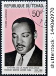 chad   circa 1969  a stamp... | Shutterstock . vector #144060970