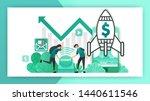 how to start a business.... | Shutterstock .eps vector #1440611546