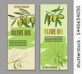 label olive oil  vector... | Shutterstock .eps vector #1440654050