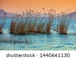 Sunset Over Balaton Lake ...