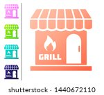 coral barbecue shopping...   Shutterstock .eps vector #1440672110