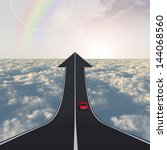 concept or conceptual business... | Shutterstock . vector #144068560