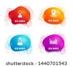 liquid badges. set of education ... | Shutterstock .eps vector #1440701543