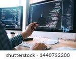 Software Developer Holds The...