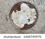 old rusty metal cap on the...   Shutterstock . vector #1440745970