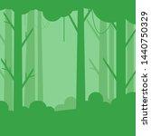 vector illustration of green... | Shutterstock .eps vector #1440750329
